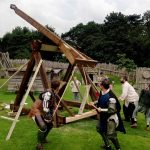 May Day Spectacular – Medieval Catapult Launching
